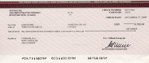 Here's Another Check For $6,703.04 You Can Receive Each Month Using Our 3-Step System!